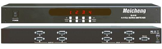 SB-4140 VGA視頻矩陣切換器(4進4出)