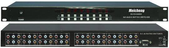 SB-5548 AV影音矩陣切換器(8進8出)
